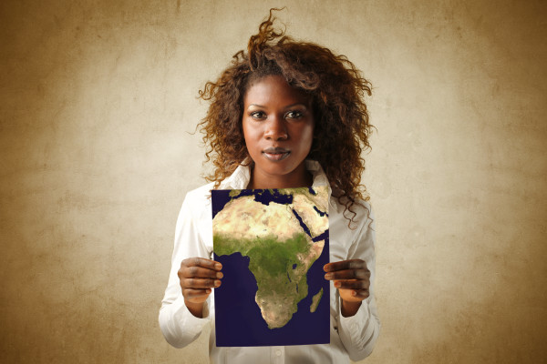 Africa in hands